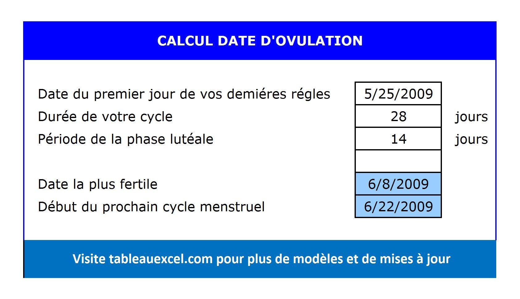 Calculer-Ovulation