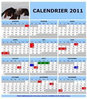 Calendrier 2011